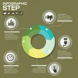 Επιχειρησιακή έννοια με τις 5 επιλογές, τα μέρη, βήματα ή διαδικασίες μπορέστε Στοκ φωτογραφία με δικαίωμα ελεύθερης χρήσης