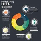 Επιχειρησιακή έννοια με τις 5 επιλογές, τα μέρη, βήματα ή διαδικασίες μπορέστε Στοκ φωτογραφίες με δικαίωμα ελεύθερης χρήσης