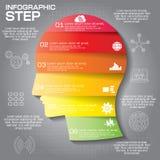 Επιχειρησιακή έννοια με τις 6 επιλογές, τα μέρη, βήματα ή διαδικασίες μπορέστε Στοκ εικόνες με δικαίωμα ελεύθερης χρήσης