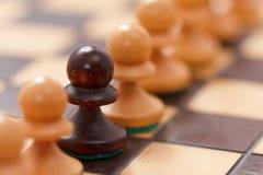 Επιχειρησιακή έννοια σκακιού, επιτυχία ηγετών Στοκ Εικόνα