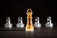 Επιχειρησιακή έννοια σκακιού Στοκ φωτογραφίες με δικαίωμα ελεύθερης χρήσης