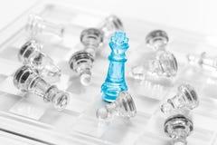 Επιχειρησιακή έννοια σκακιού Στοκ εικόνες με δικαίωμα ελεύθερης χρήσης