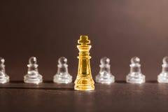 Επιχειρησιακή έννοια σκακιού Στοκ Εικόνες