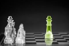 Επιχειρησιακή έννοια σκακιού Στοκ Εικόνα