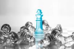 Επιχειρησιακή έννοια σκακιού Στοκ Φωτογραφία