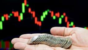 Επιχειρησιακή έννοια της παραγωγής των χρημάτων στην επένδυση Στοκ Εικόνες