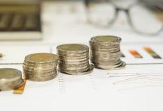 Επιχειρησιακή έννοια της παραγωγής των χρημάτων στην επένδυση Στοκ εικόνα με δικαίωμα ελεύθερης χρήσης