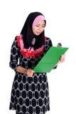 Επιχειρησιακή έννοια Muslimah Στοκ Εικόνα