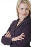 επιχειρησιακή βέβαια γυναίκα Στοκ Εικόνες