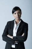 επιχειρησιακή γυναίκα άργυρου Στοκ εικόνα με δικαίωμα ελεύθερης χρήσης