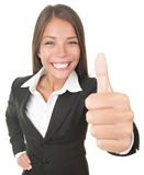 Επιχειρησιακή γυναίκα επιτυχίας Στοκ εικόνα με δικαίωμα ελεύθερης χρήσης