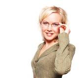 επιχειρησιακή γυναίκα Στοκ εικόνες με δικαίωμα ελεύθερης χρήσης