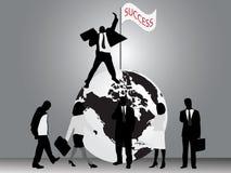 επιχειρησιακή επιτυχία Στοκ Εικόνα