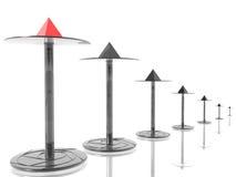 επιχειρησιακή ηγεσία διανυσματική απεικόνιση