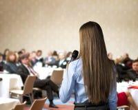 Επιχειρησιακή διάσκεψη Στοκ φωτογραφία με δικαίωμα ελεύθερης χρήσης