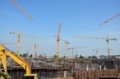 Επιχειρησιακή κατασκευή οικοδόμησης στην Ταϊλάνδη Στοκ εικόνες με δικαίωμα ελεύθερης χρήσης
