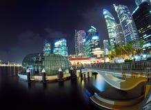 επιχειρησιακή κεντρική περιοχή Σινγκαπούρη Στοκ εικόνες με δικαίωμα ελεύθερης χρήσης