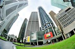 επιχειρησιακή κεντρική περιοχή Σινγκαπούρη Στοκ Εικόνα
