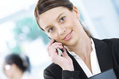επιχειρησιακή κλήση στοκ φωτογραφία με δικαίωμα ελεύθερης χρήσης