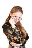 επιχειρησιακή κυρία Στοκ φωτογραφίες με δικαίωμα ελεύθερης χρήσης