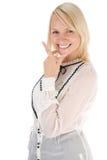 επιχειρησιακή κυρία στοκ φωτογραφίες