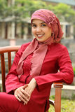 επιχειρησιακή μουσουλμανική γυναίκα Στοκ εικόνες με δικαίωμα ελεύθερης χρήσης