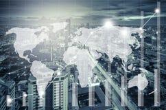 Επιχειρησιακή οικονομική έννοια Στοκ Εικόνες