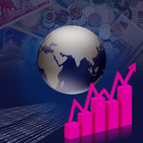 επιχειρησιακή οικονομική χρηματοδότηση Διανυσματική απεικόνιση