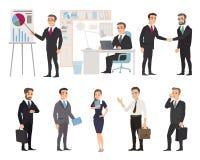 Επιχειρησιακή ομάδα των υπαλλήλων διανυσματική απεικόνιση