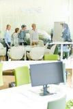 Επιχειρησιακή ομάδα προγραμματισμού μια στρατηγική Στοκ Φωτογραφία