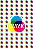 Επιχειρησιακή παρουσίαση Cmyk απεικόνιση αποθεμάτων