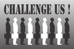 Επιχειρησιακή πρόκληση Στοκ Εικόνες
