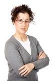 επιχειρησιακή σοβαρή γυναίκα Στοκ φωτογραφία με δικαίωμα ελεύθερης χρήσης