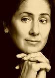 επιχειρησιακή σοφή γυναίκα Στοκ εικόνα με δικαίωμα ελεύθερης χρήσης