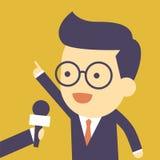Επιχειρησιακή συνέντευξη ελεύθερη απεικόνιση δικαιώματος