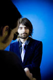 επιχειρησιακή συνέντευξ Στοκ φωτογραφίες με δικαίωμα ελεύθερης χρήσης