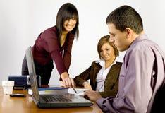 επιχειρησιακή συνεδρίαση στοκ εικόνα με δικαίωμα ελεύθερης χρήσης