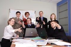 επιχειρησιακή συνεργα&sig Στοκ Φωτογραφίες