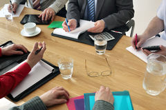 Επιχειρησιακή συνεδρίαση Στοκ Φωτογραφίες