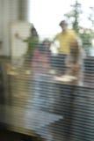 Επιχειρησιακή συνεδρίαση πίσω από την κλειστή πόρτα Στοκ Εικόνα