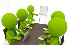 επιχειρησιακή συνεδρία&si Στοκ Εικόνα