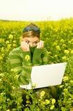 επιχειρησιακή υπαίθρια γυναίκα στοκ εικόνες με δικαίωμα ελεύθερης χρήσης