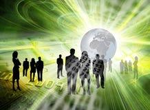 επιχειρησιακή χρηματοδό&tau Στοκ Εικόνες