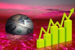Επιχειρησιακή χρηματοδότηση Διανυσματική απεικόνιση