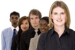επιχειρησιακή διαφορετική ομάδα Στοκ εικόνα με δικαίωμα ελεύθερης χρήσης