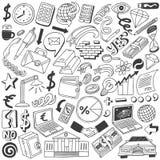 Επιχειρησιακή doodles συλλογή Στοκ Εικόνες