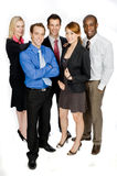 Επιχειρησιακοί επαγγελματίες στοκ φωτογραφίες