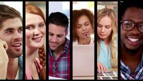 επιχειρησιακοί δημιουργικοί άνθρωποι απόθεμα βίντεο