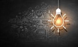 Επιχειρησιακοί ιδέες και στόχοι στοκ εικόνα με δικαίωμα ελεύθερης χρήσης