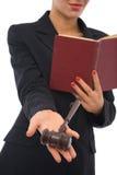 επιχειρησιακοί νόμοι στοκ φωτογραφία